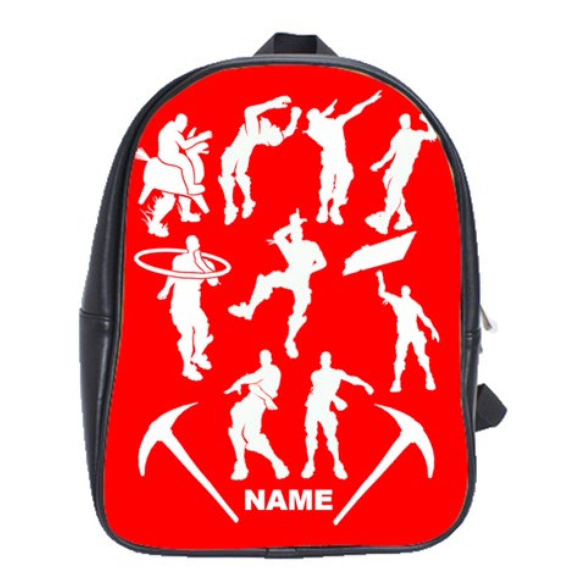 Emote Dancers & Floss 100% Genuine Leather Backpack