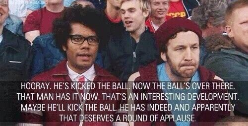 Me during soccer.