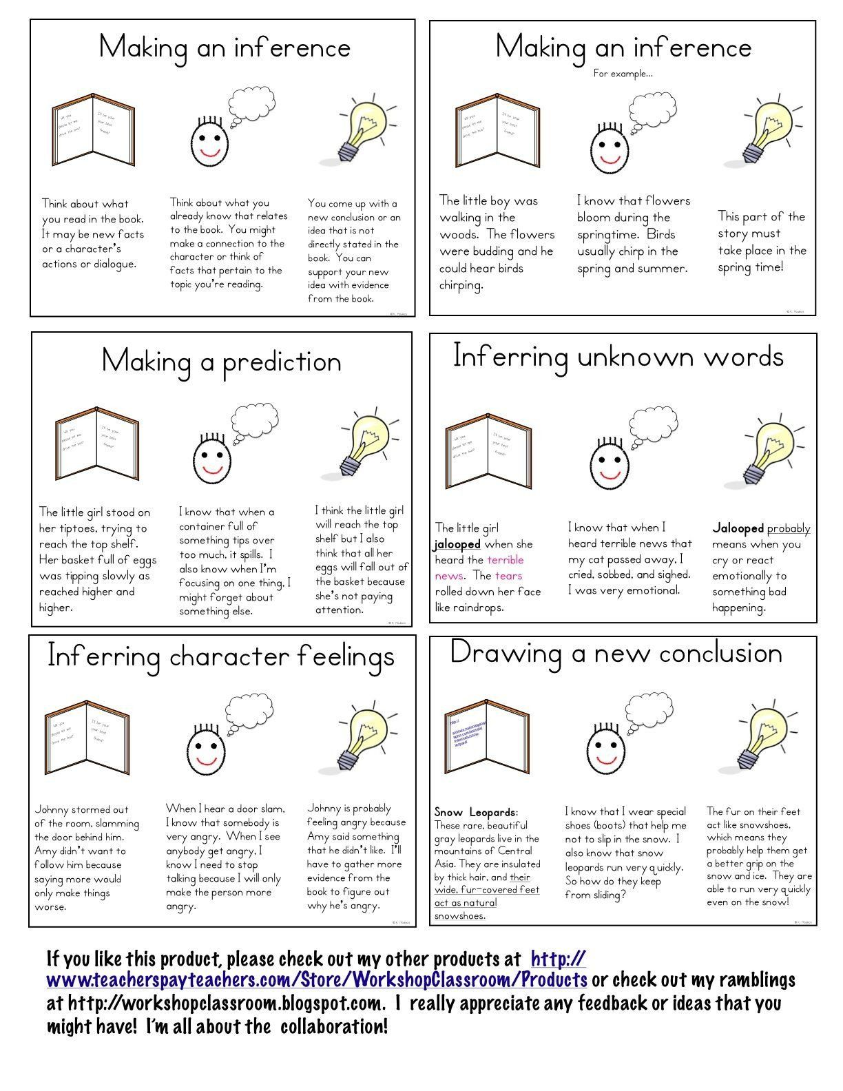 Drawing Conclusions Worksheets 2nd Grade Drawing Conclusion Worksheet Third Grade Inference Task Cards Inferencing Mini Lessons [ 1584 x 1224 Pixel ]
