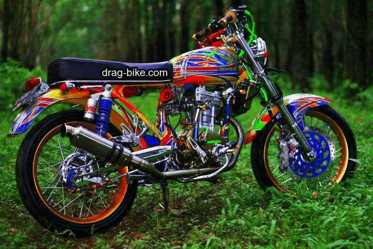 51 Foto Gambar Modifikasi Motor Cb 100 Terbaik Kontes Drag Bike Com Motor Sepeda Retro Gambar