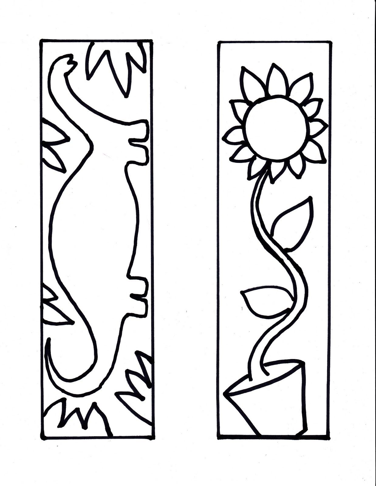 printable bookmarks for kids coloring   TA   Pinterest