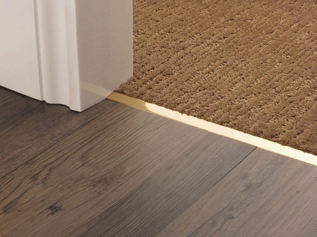 Premier Trims Square Door Thresholds Join Carpets To Hard Floors E G Tiles Wood Wide Choice Of Metal Finishes Shop Online In 2020 Flooring Floor Edging Floor Trim