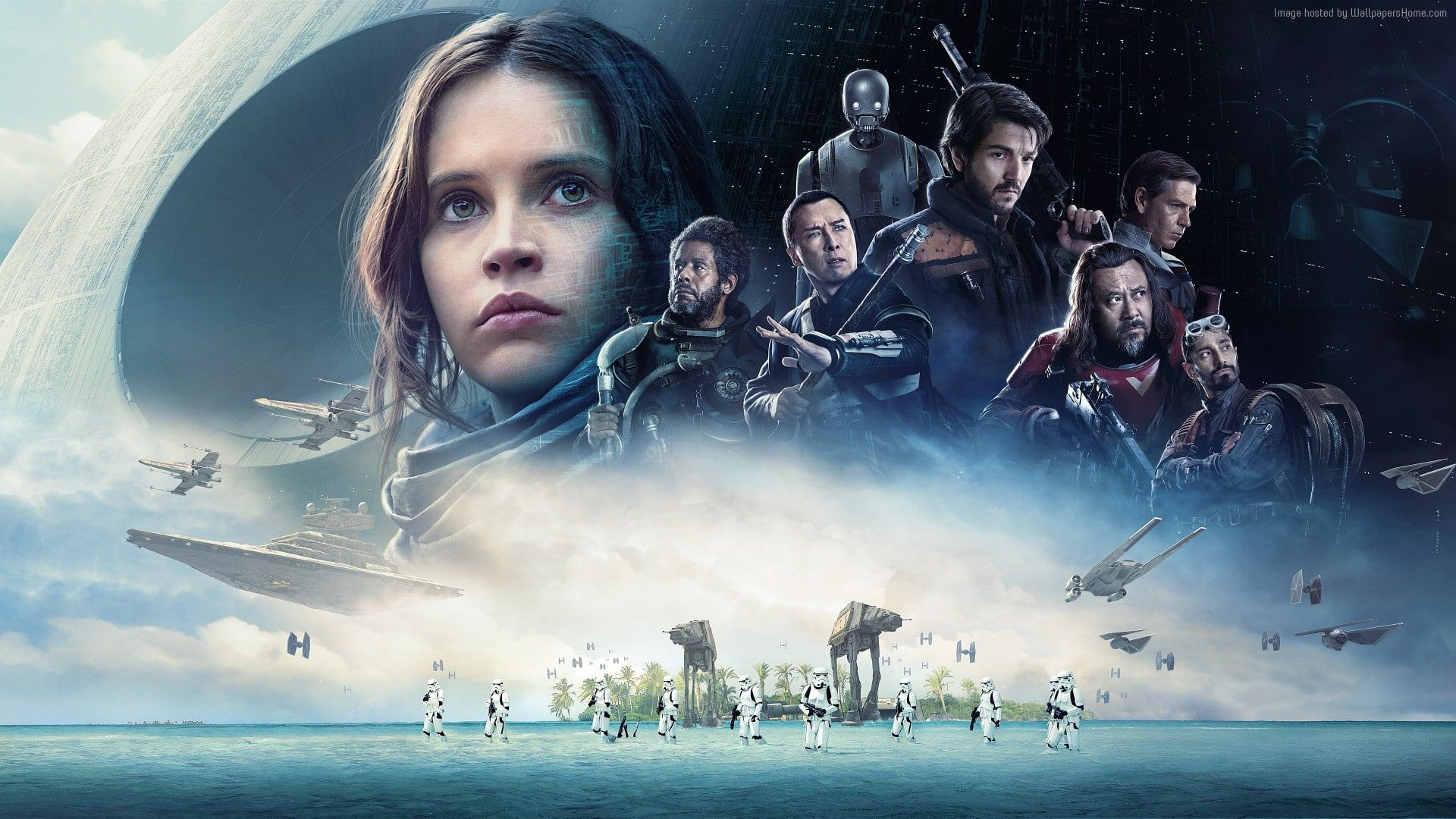 Rogue One A Star Wars Story 12k Felicity Jones 1080P