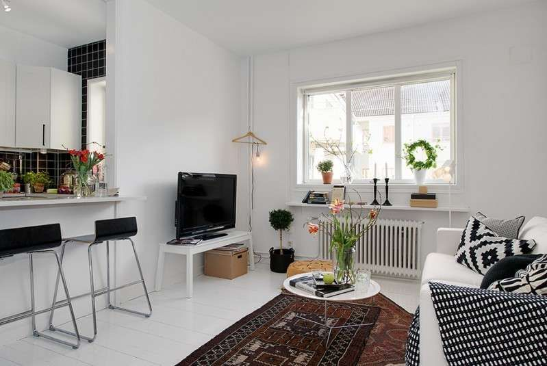 Arredare un appartamento di 45 mq - Come arredare un piccolo ...