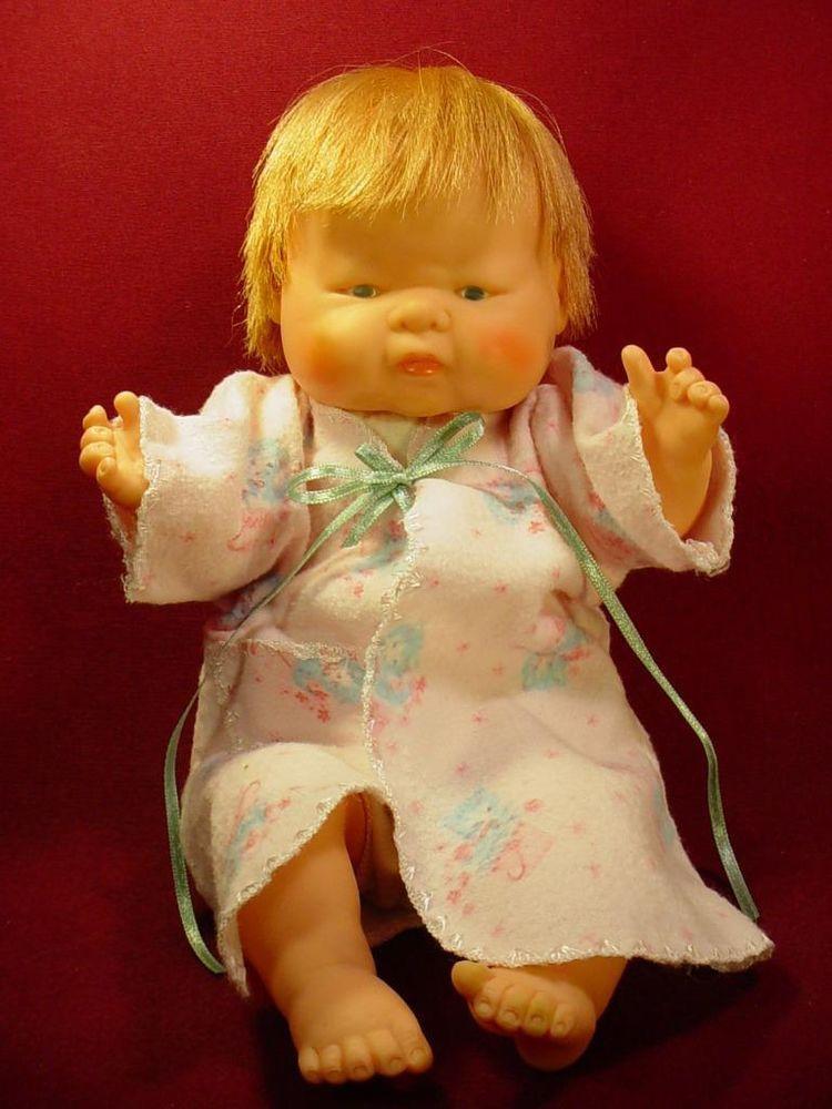 "DARLING VINTAGE 1960s 12"" BABY DEAR TYPE DOLL"