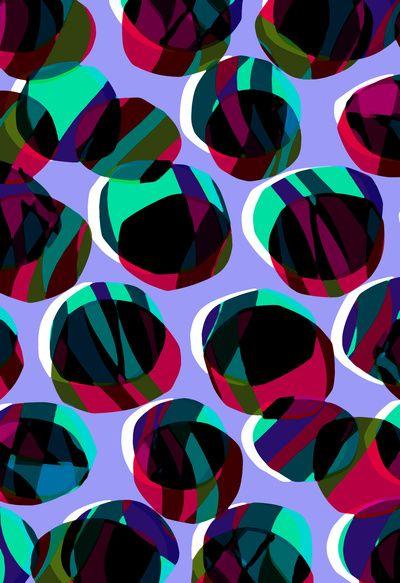 Purple Circles - Sarah Bagshaw