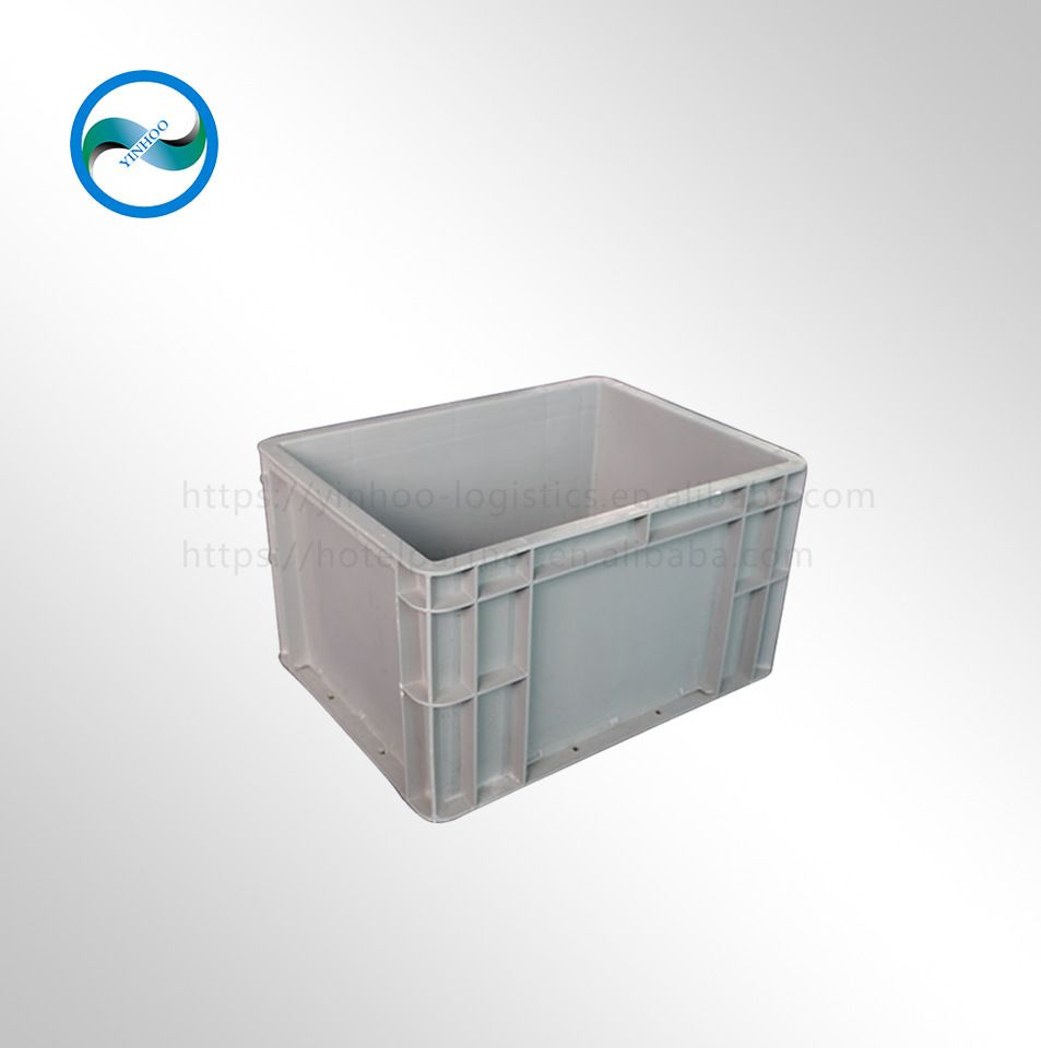 Durable EU standard plastic storage container warehouse storage box