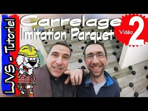 COMMENT POSER DU CARRELAGE IMITATION PARQUET - TUTORIEL - LJVS - YouTube