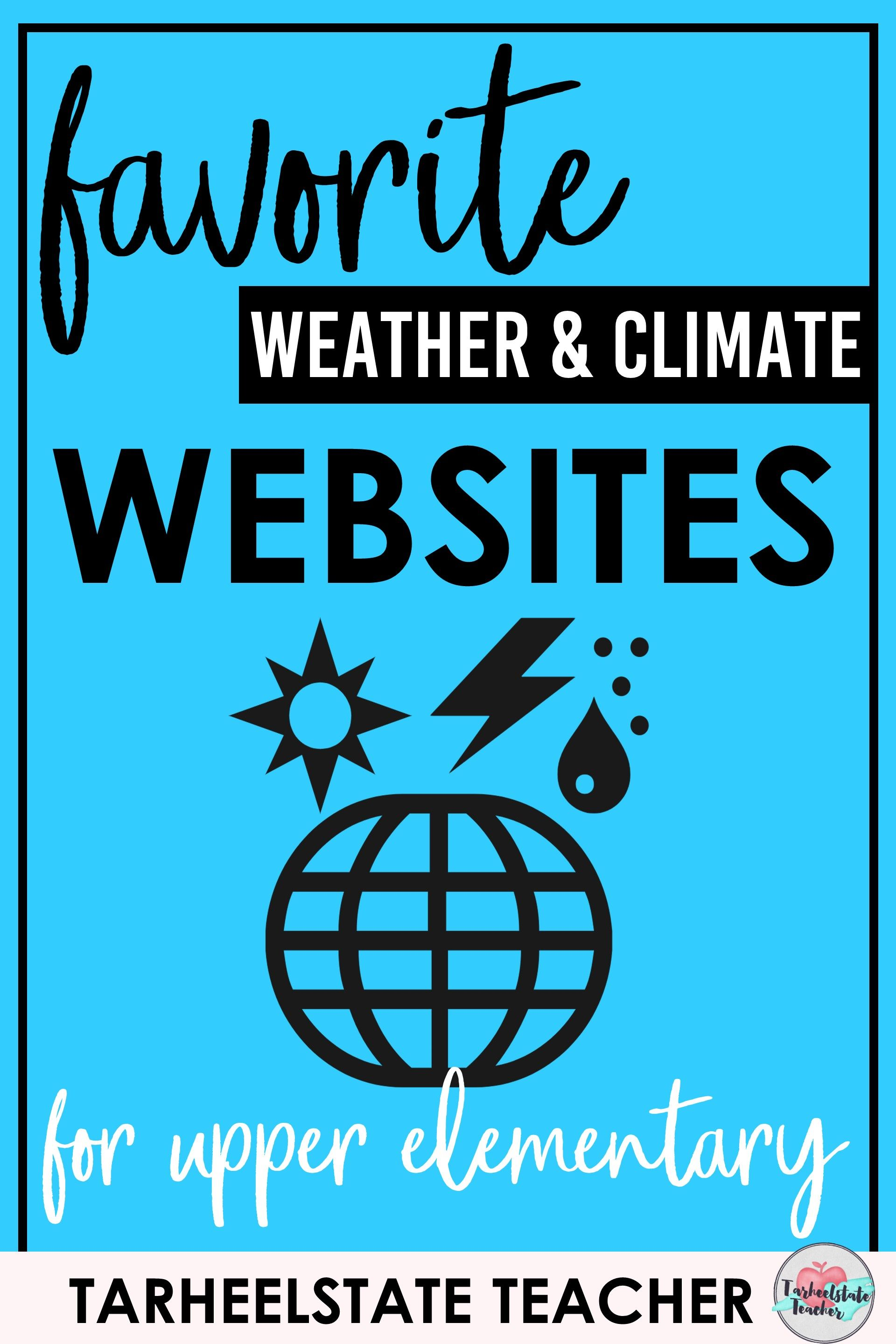 Best Websites For Teaching Weather Amp Climate