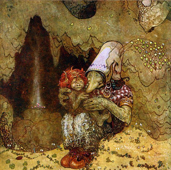 John Bauer illustration. artpassions.net.