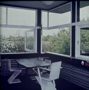 Afbeelding van rietveld schr derhuis interieur boven for Auto interieur reinigen utrecht