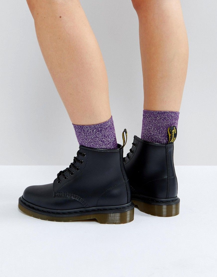 más baratas 06c35 e75c0 Dr Martens 101 6 Eye Boots - Black | Fashion in 2019 | Dr ...