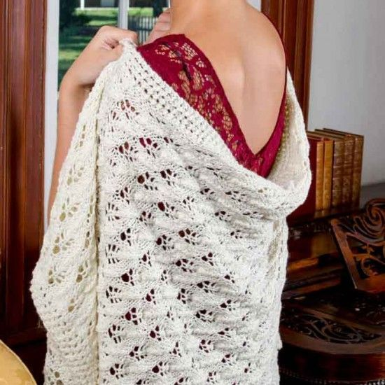 Knit a shawl for Lady Mary with Downton Abbey Yarn (With ...
