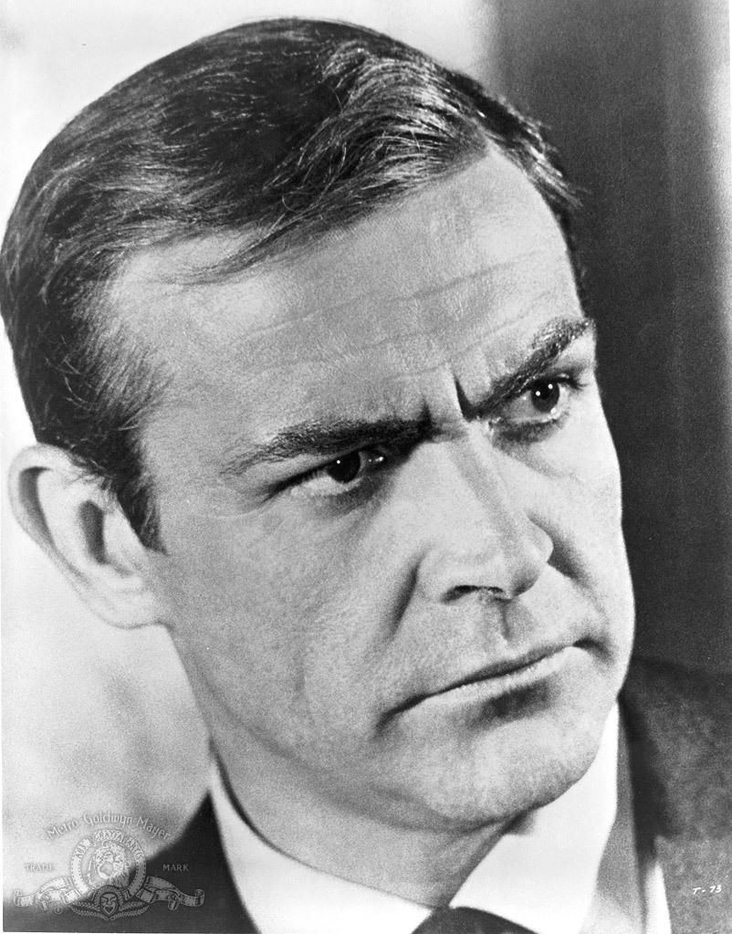 Still Of Sean Connery In Thunderball