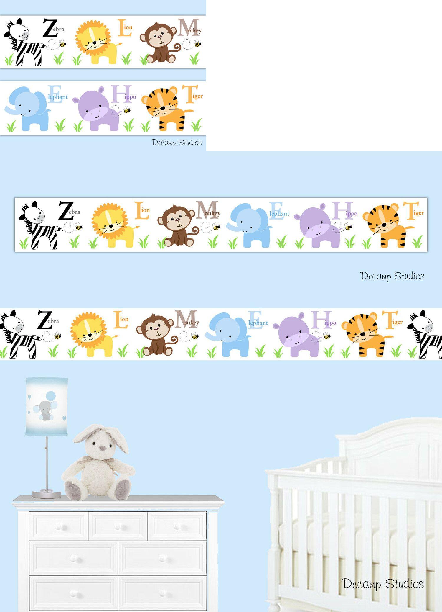 Wallpaper Borders 37636 Safari Animal