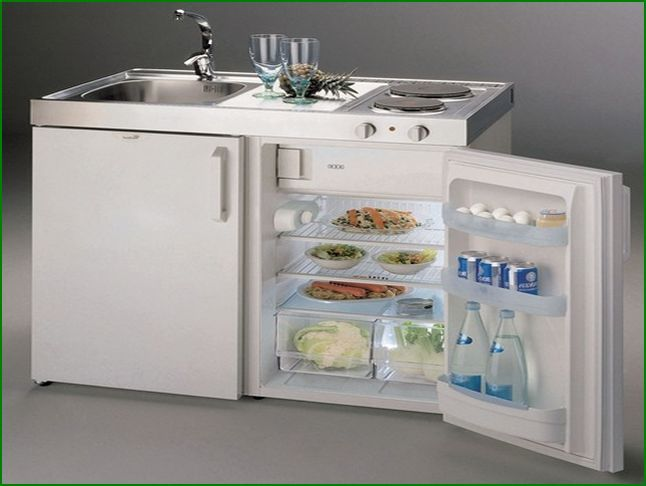 Tiny 1 All In One Kitchen Units On 12 Photos Of The Compact Kitchens Are A Sink Range