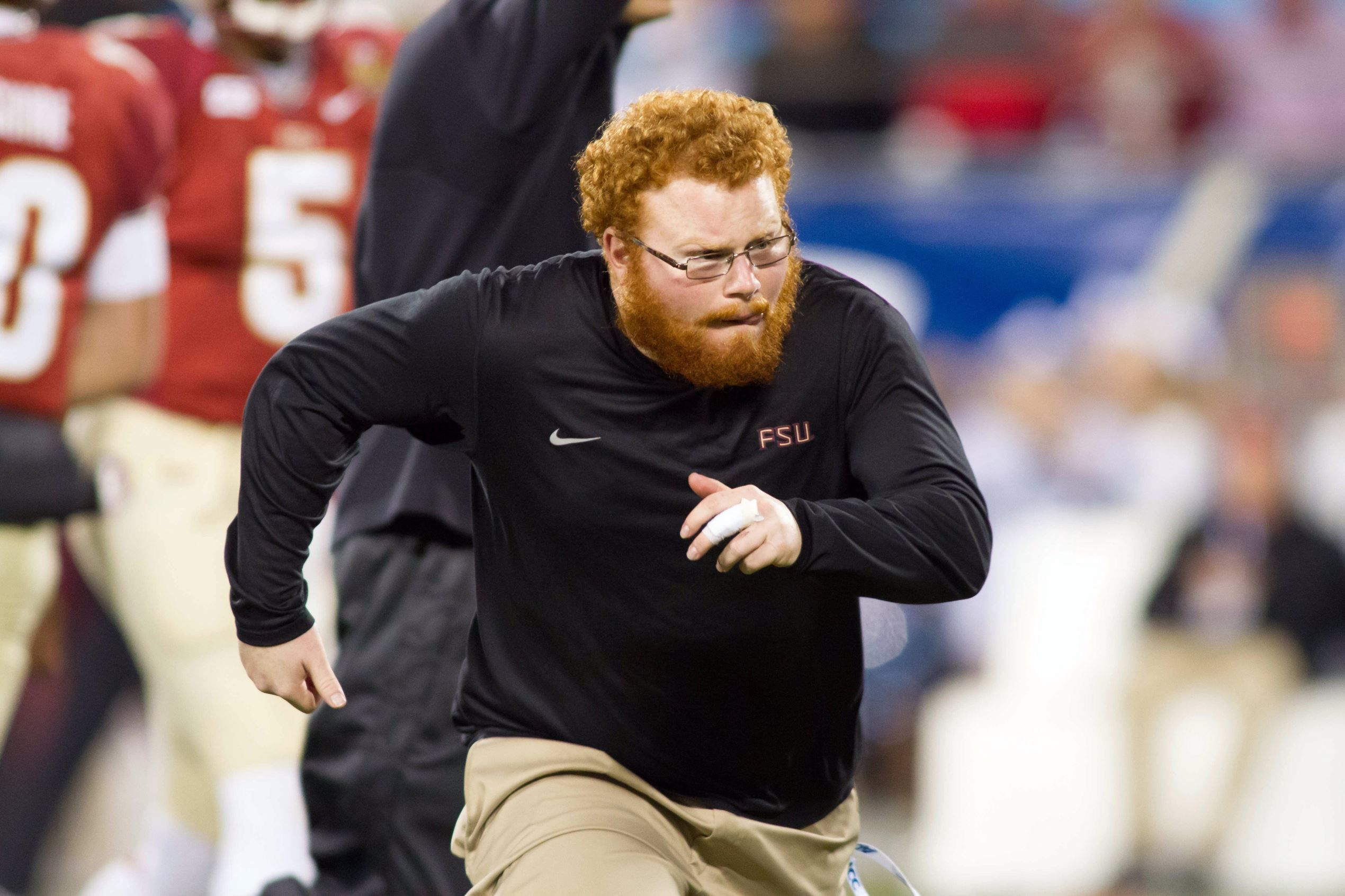 Frankie Grizzle aka Red Lightning.  Sure will miss him, but so proud.