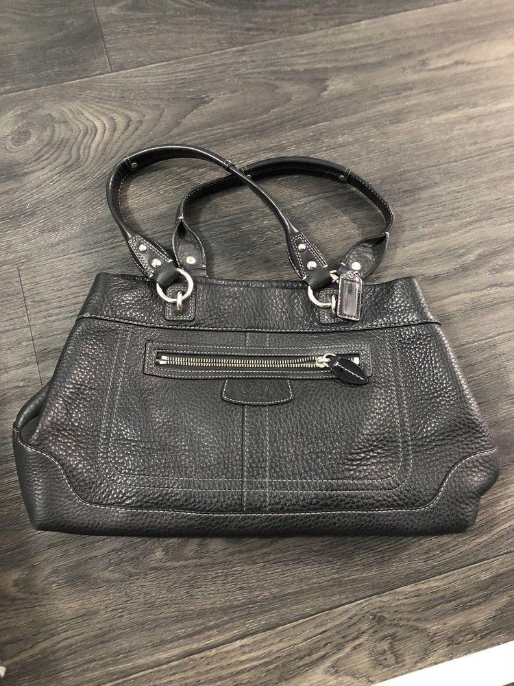 ac7b049820e9 Coach Black Crossgrain Carryall Satchel Bag  fashion  clothing  shoes   accessories  womensbagshandbags