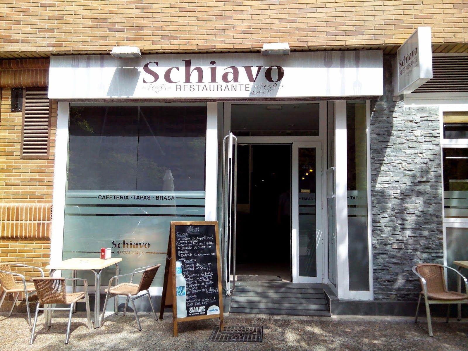 El mundo de Avekrénides.                     : Restaurante Schiavo. El sibarita. Zaragoza.