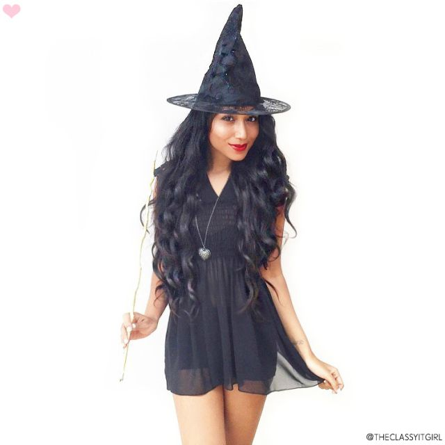 Witch Costume Idea: 5 Little Black Dress Halloween Costume Ideas ...