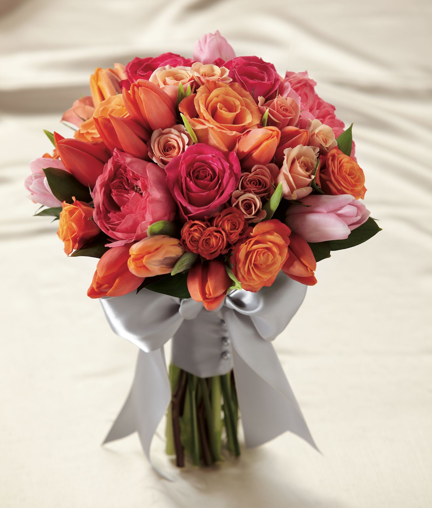 The Sunset Dream Bouquet bursts with sun-drenched color to captivate ...