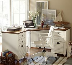 home office furniture desk sets home office desks pottery barn