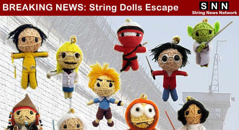 String Dolls - my newest obsession. Shall I make them or collect them?