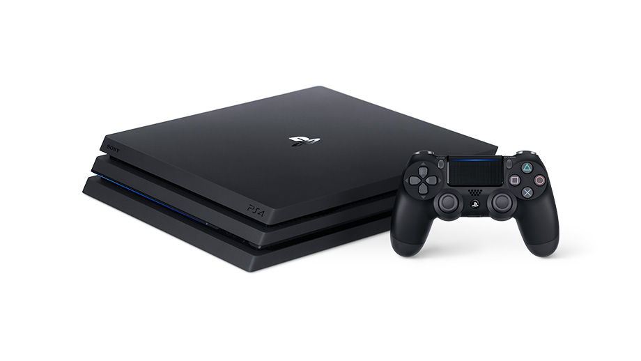 The New Ps4 Pro Is Due Out This November With An Upgraded Graphics Processor It Will Offer An Amazing High Res Gaming Ex Ps4 Pro Gaming Console Game Console
