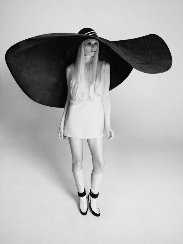 Abbey Lee Kershaw's Huge Hat