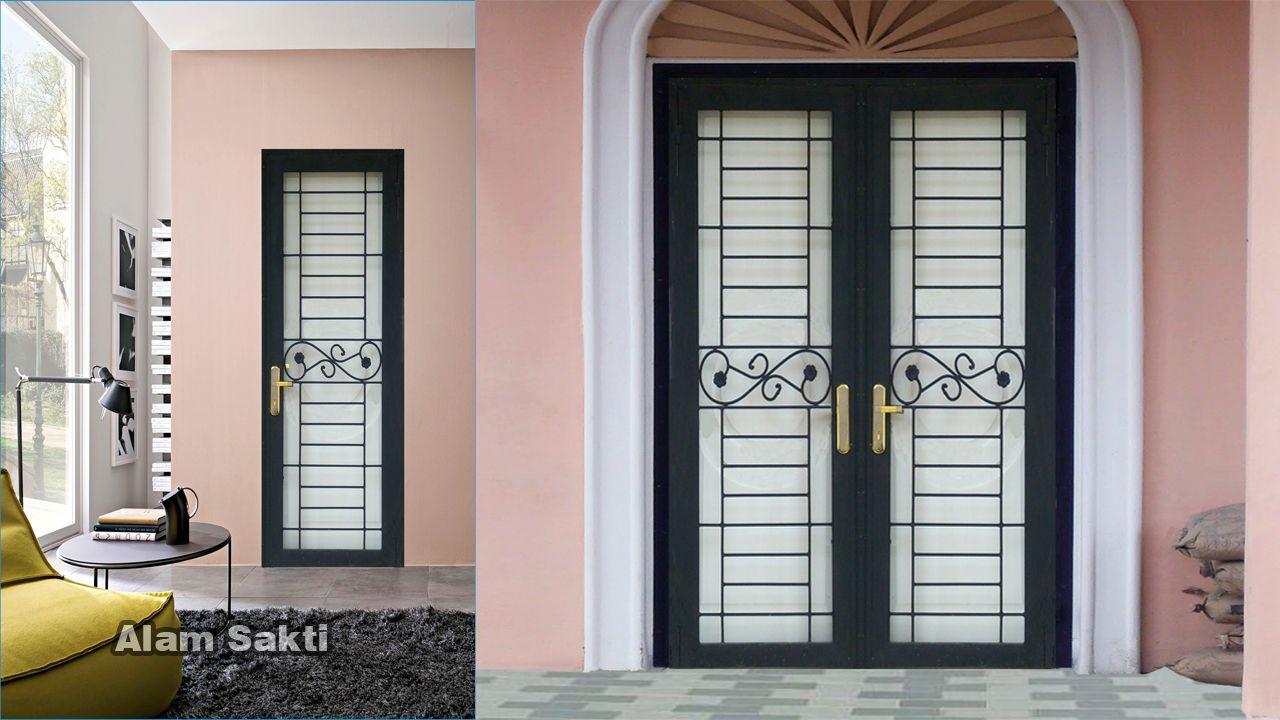 10 Contoh pilihan untuk Pintu Teralis Besi Minimalis dan ...