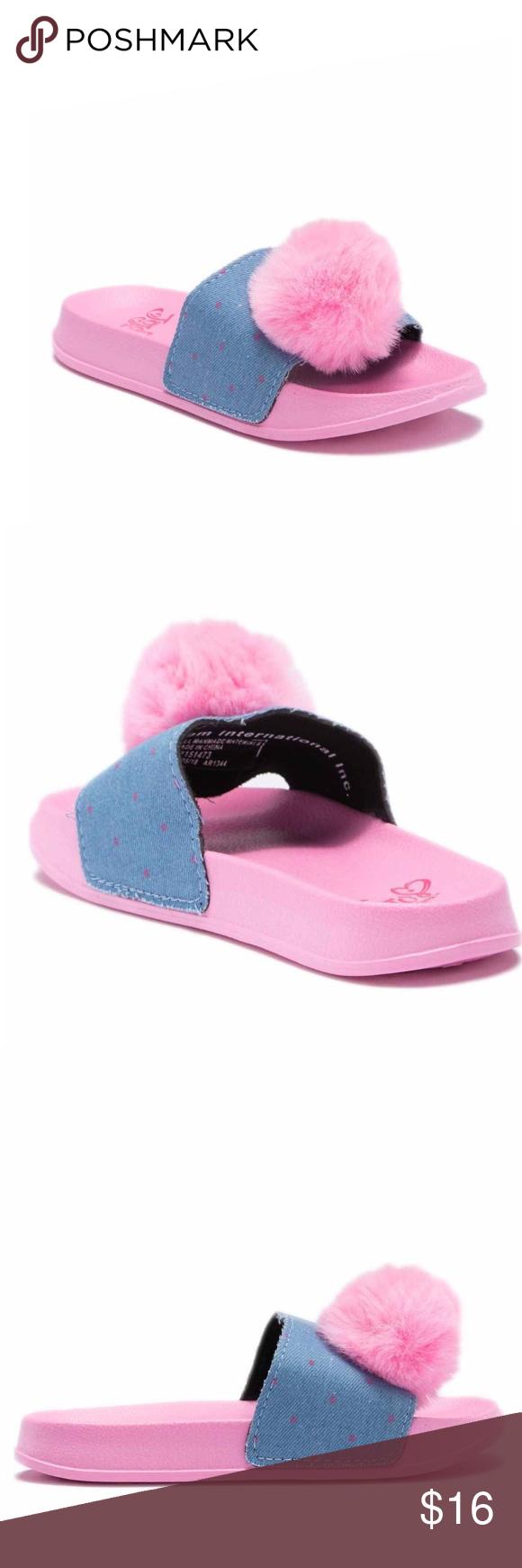 943d2b1f078 Jojo Siwa Slides NWT super cute kids Slides Jo Jo Siwa Shoes Sandals   Flip  Flops