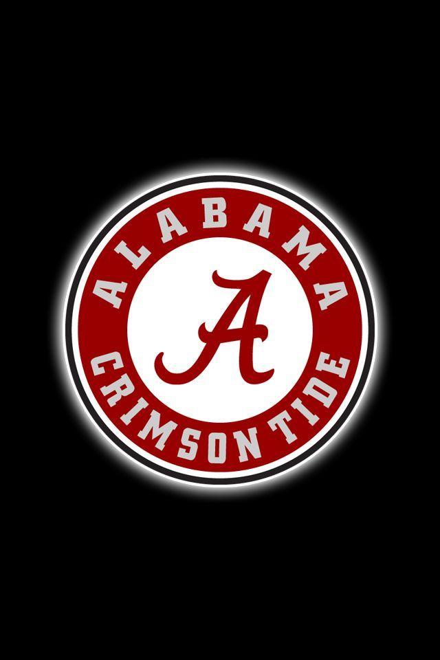 Alabama Football Iphone Wallpaper Alabama Football Logo Roll Tide Hd Wallpapers 171 Wallsick