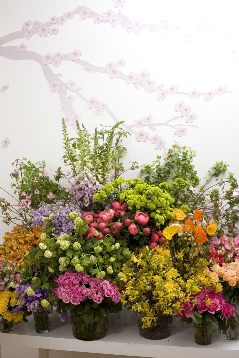Behind The Scenes - Flower Arranging With Fleur - Real Weddings