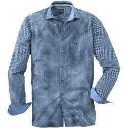 Photo of Olymp Casual Shirt, modern fit, Kent, Bleu, L Olympolymp
