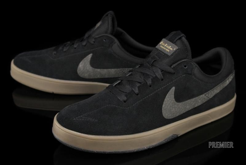 NIKE SB ERIC KOSTON ONE BLACK GUM  2c186249c