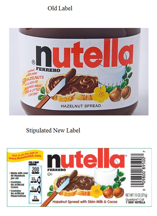 Did You Buy Nutella Since 2008 Did You Think Nutella Was Healthy Nutella Nutella Label Barbie Miniatures