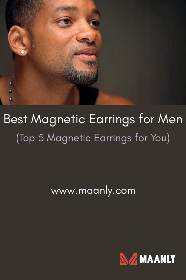 Best Magnetic Earrings For Men Top 5 You Click To Read More Magneticearrings Magneticearringsformen Earringsformen