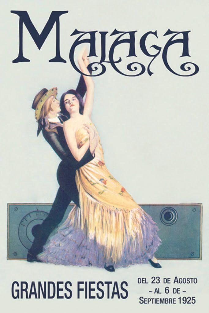 Malaga - Grandes Fiestas 1925