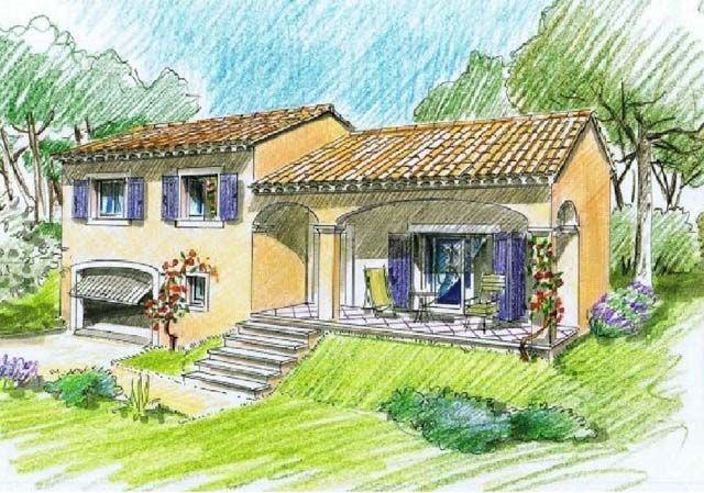 Villa Kithara, Callian - 1 Maisons de charme dans le midi de la - plan maison demi sous sol