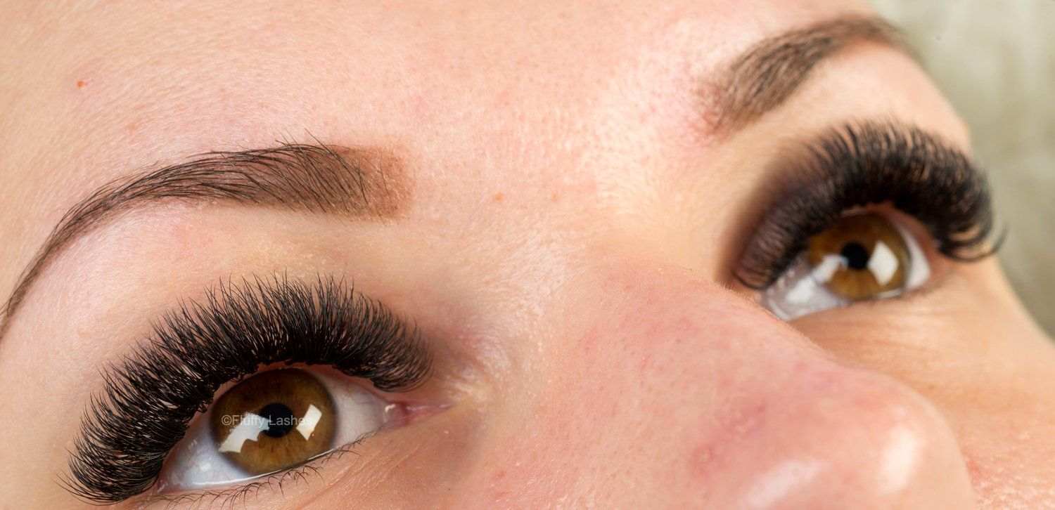 Fluffy Lashes 5d Volume Eyelash Extensions Pictures Of Volume