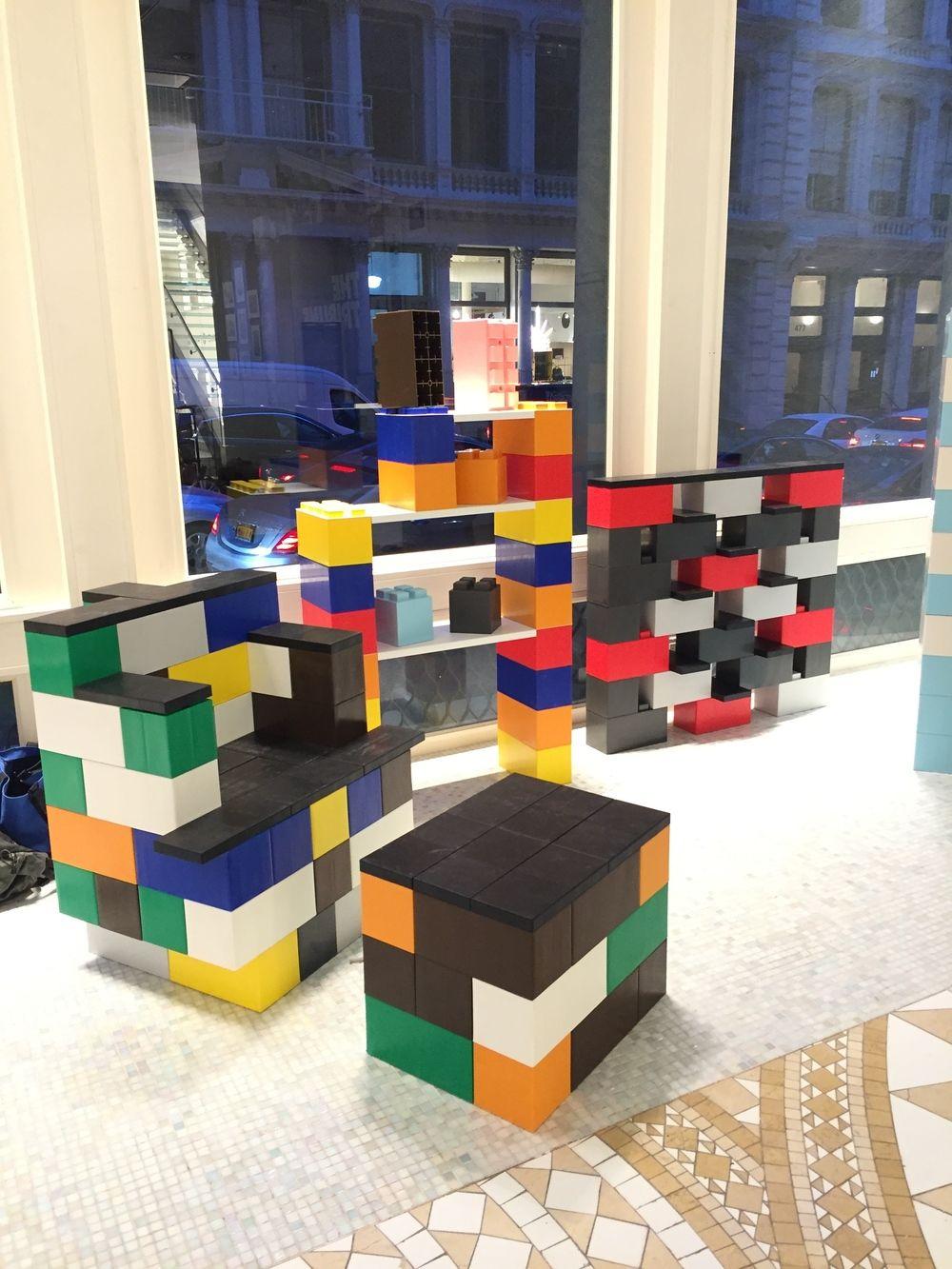 Large Lego Modular Building Blocks From Www Modularbuildingblocks Co