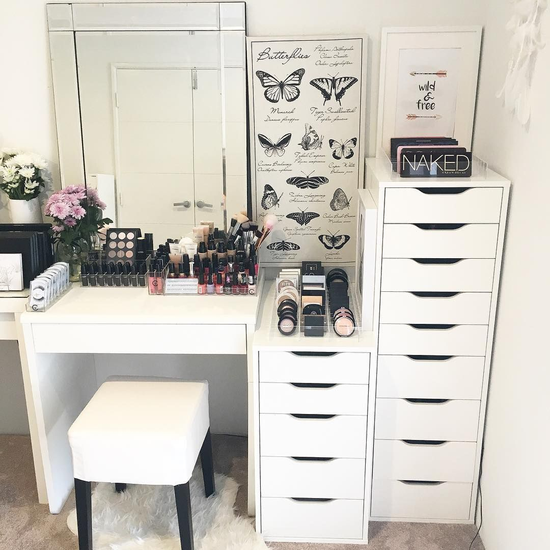Best 23 Diy Makeup Room Ideas Organizer Storage And 640 x 480