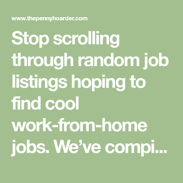 Housing Search Sites: Want To Work From Home? These 15 Sites Will Help You Find