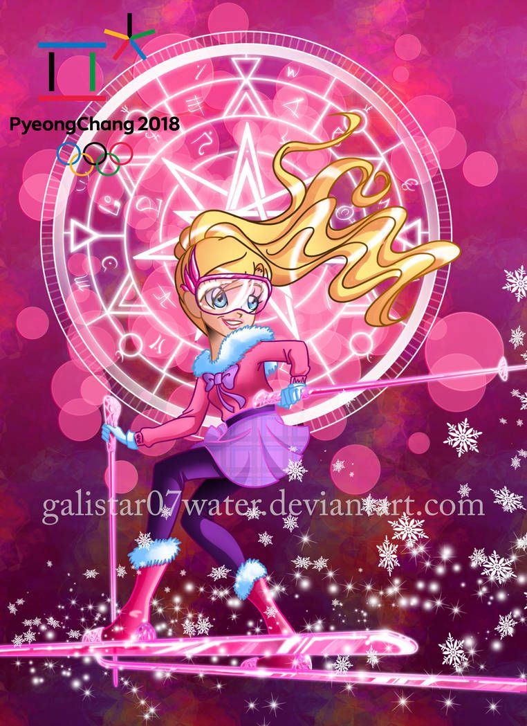 Iris at the 2018 PyeongChang Olympics by Galistar07water