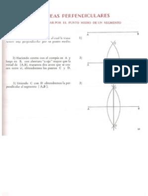 Dibujo Tecnico Pasos Para Trazar Diferentes Lineas 21st