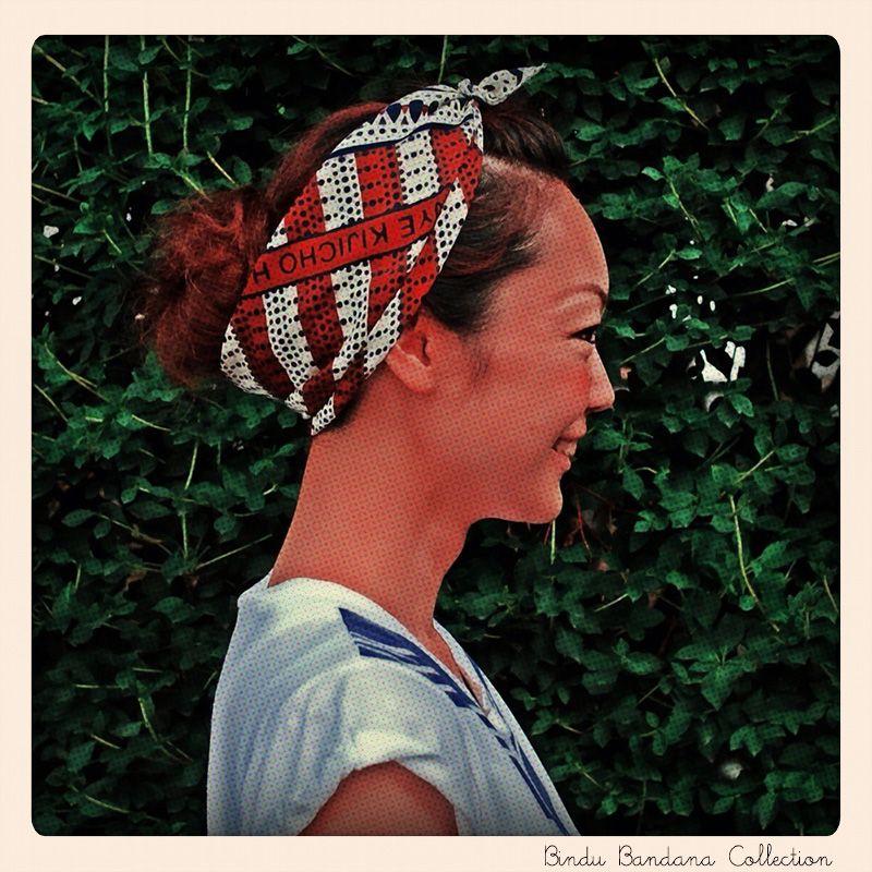 bindu-scarf:  Uhuru Bandana Collection / Bindu