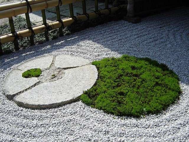 Giardino zen giapponese foto donna giardino for Giardini zen immagini