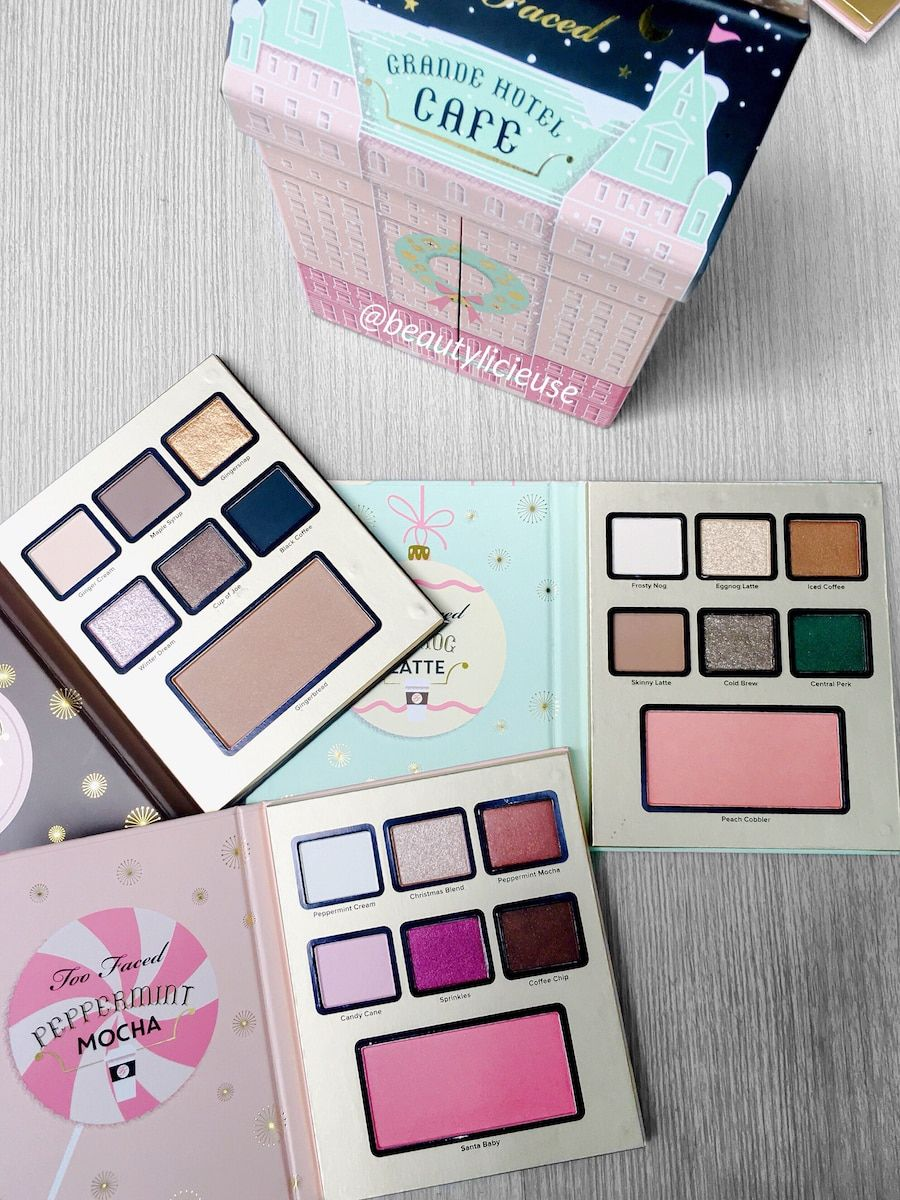Too Faced Christmas In New York Coll Noel 2016 H I T C H E D