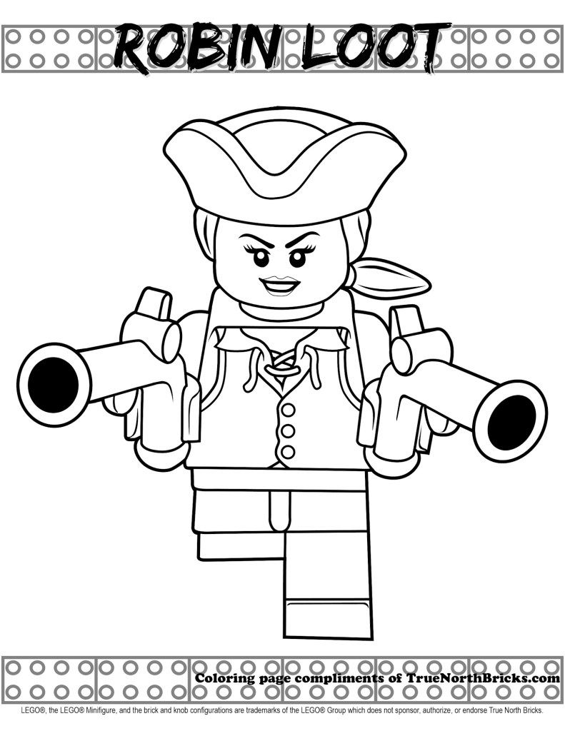 Robin Loot Coloring Page Lego Pirates True North Bricks Pirate Coloring Pages Lego Coloring Pages Lego Coloring [ 1024 x 791 Pixel ]