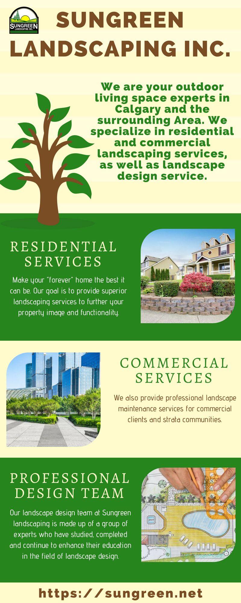 Sungreen Landscaping Company Offers Landscape Maintenance To
